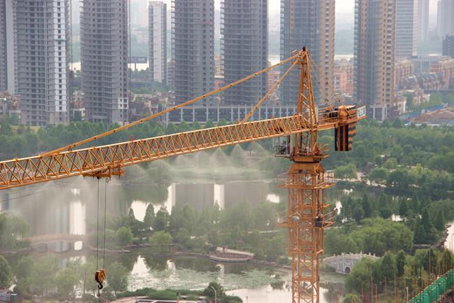 邵阳工地塔吊喷淋降尘设备厂家