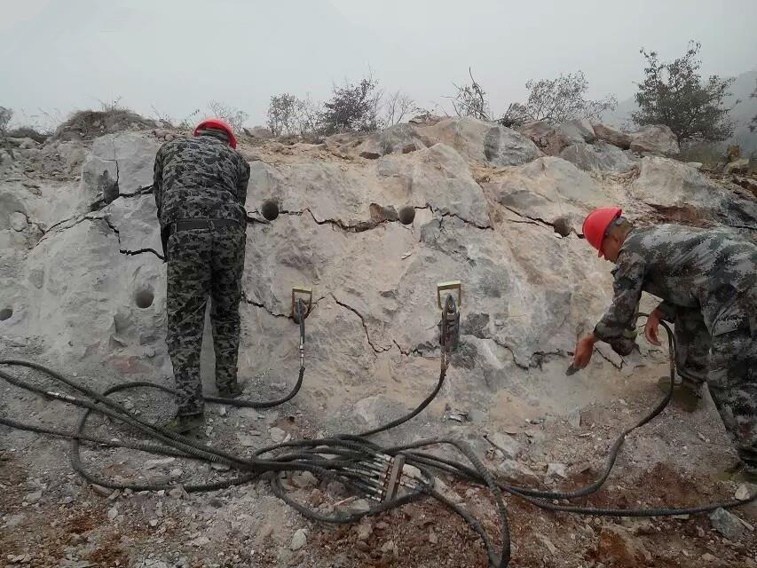 大型破拆机械岩石劈裂棒型号