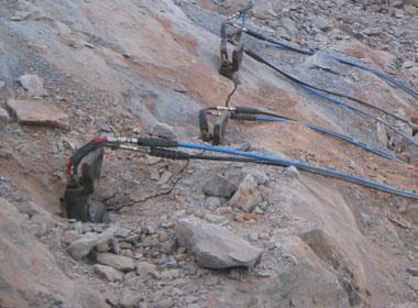 房地产基坑开挖岩石分裂棒厂家直销