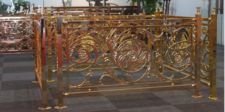 成都铝楼梯铜楼梯报价