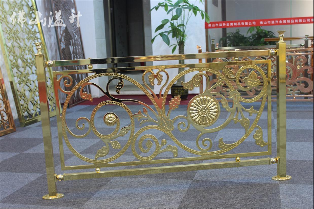 武汉高档铜楼梯