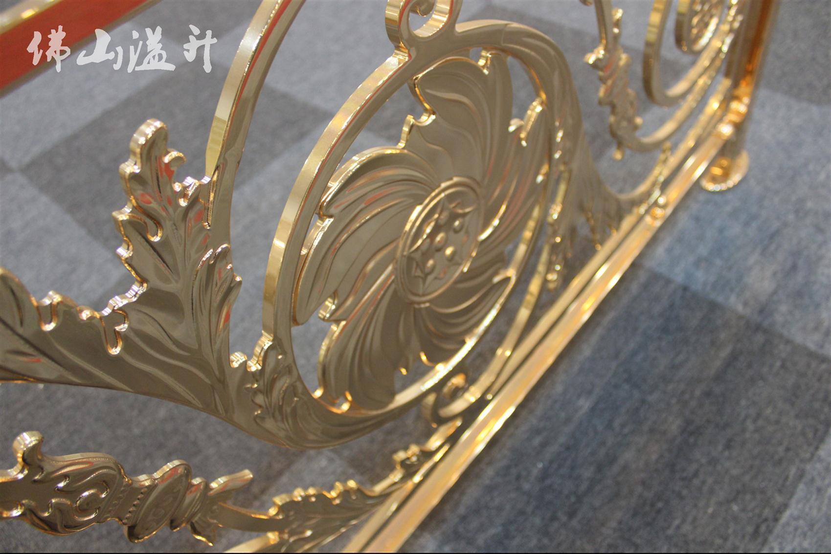铜艺楼梯栏杆