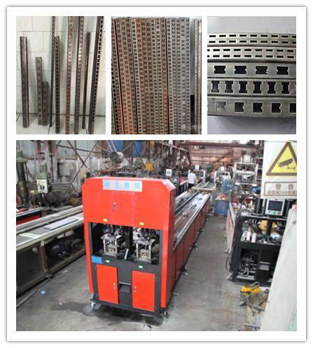 江苏立柱货架冲孔机生产设备