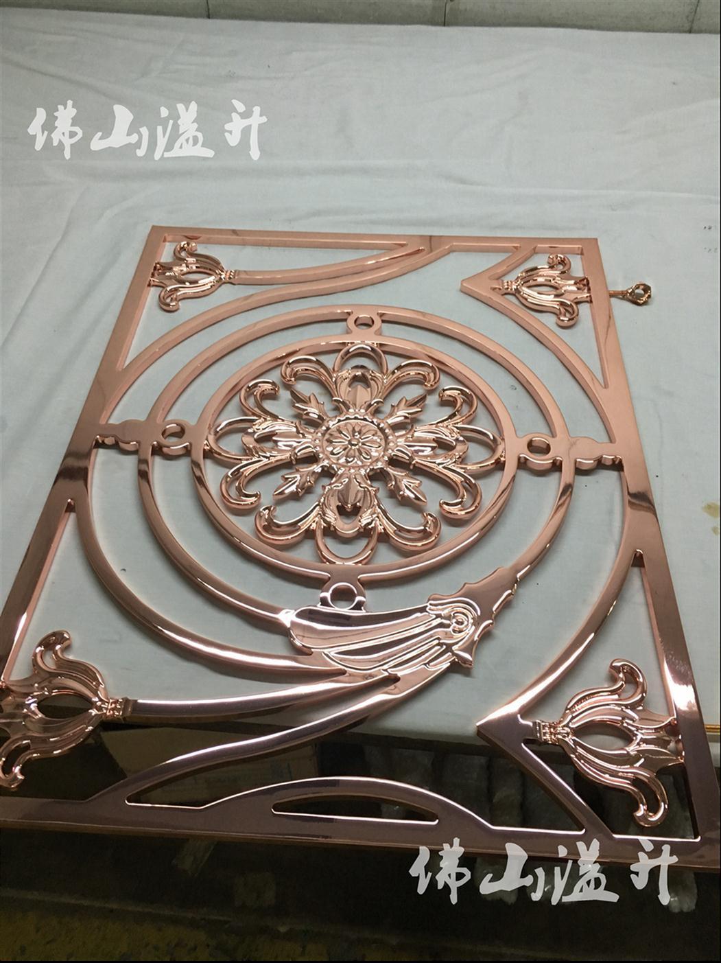 芜湖别墅铝雕花楼梯扶手厂