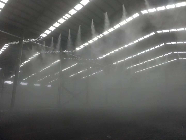 潜江市搅拌站料仓喷淋降尘厂家
