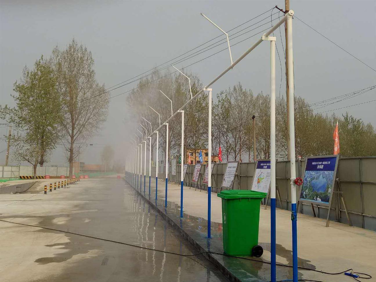九江工地围挡喷淋降尘设备厂家