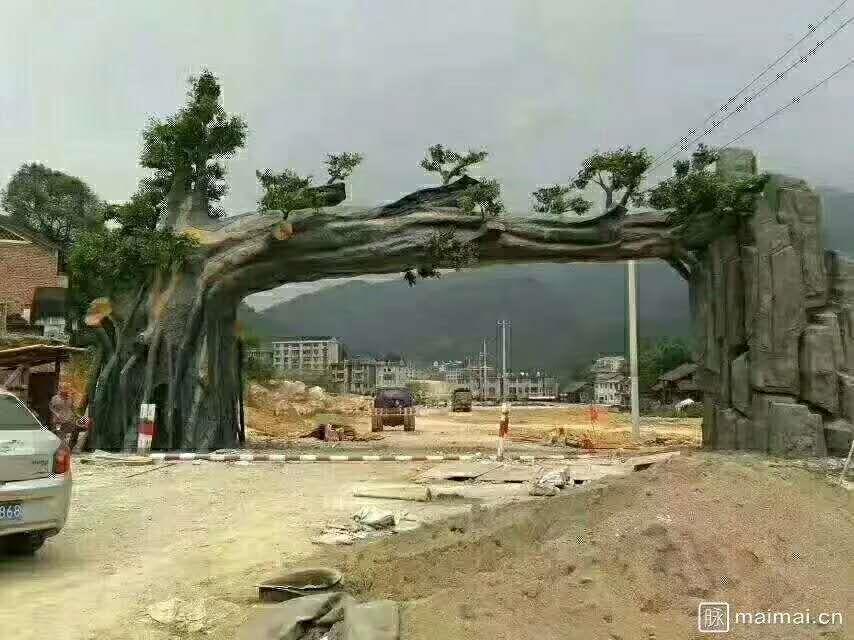 苏州专业生态园大门制作