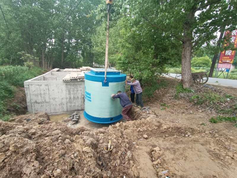 贵阳一体化PE预制泵站生产可按需求定制
