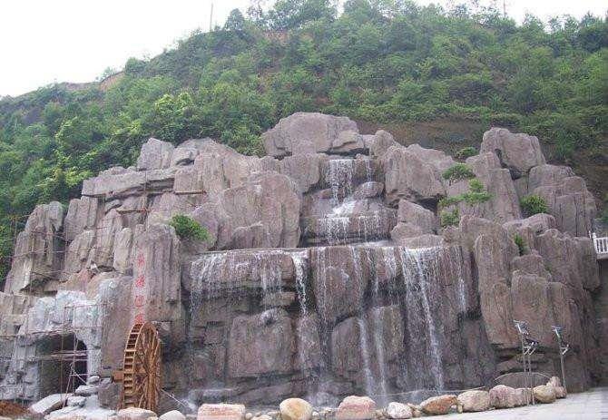 grc塑石假山制作多少钱