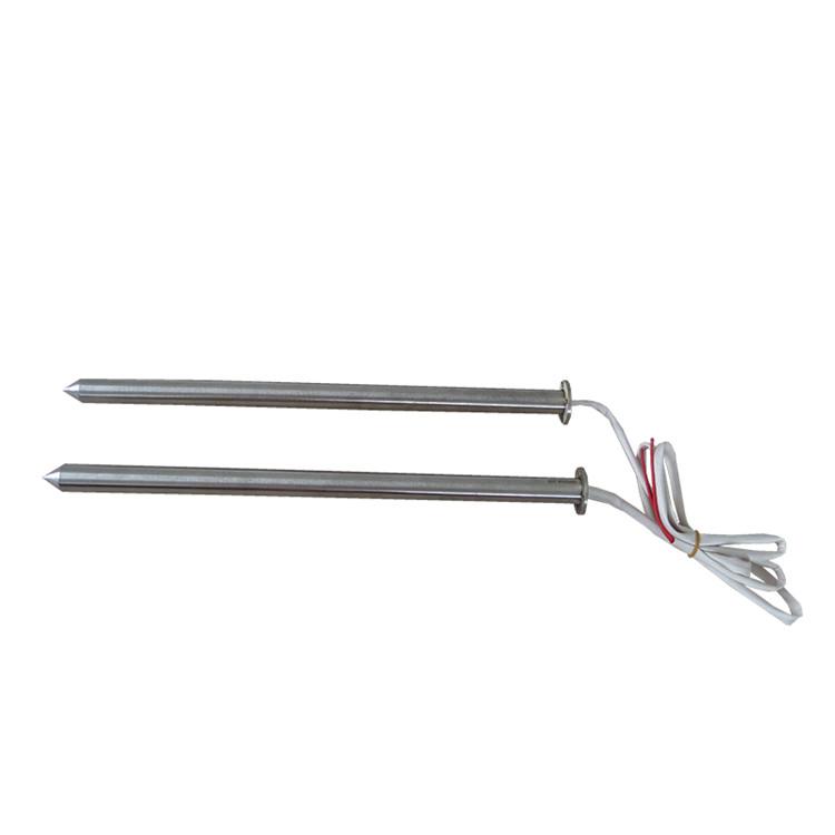 专业定制供应 耐腐蚀耐高温 锥型头单端加热棒 干烧电加热管