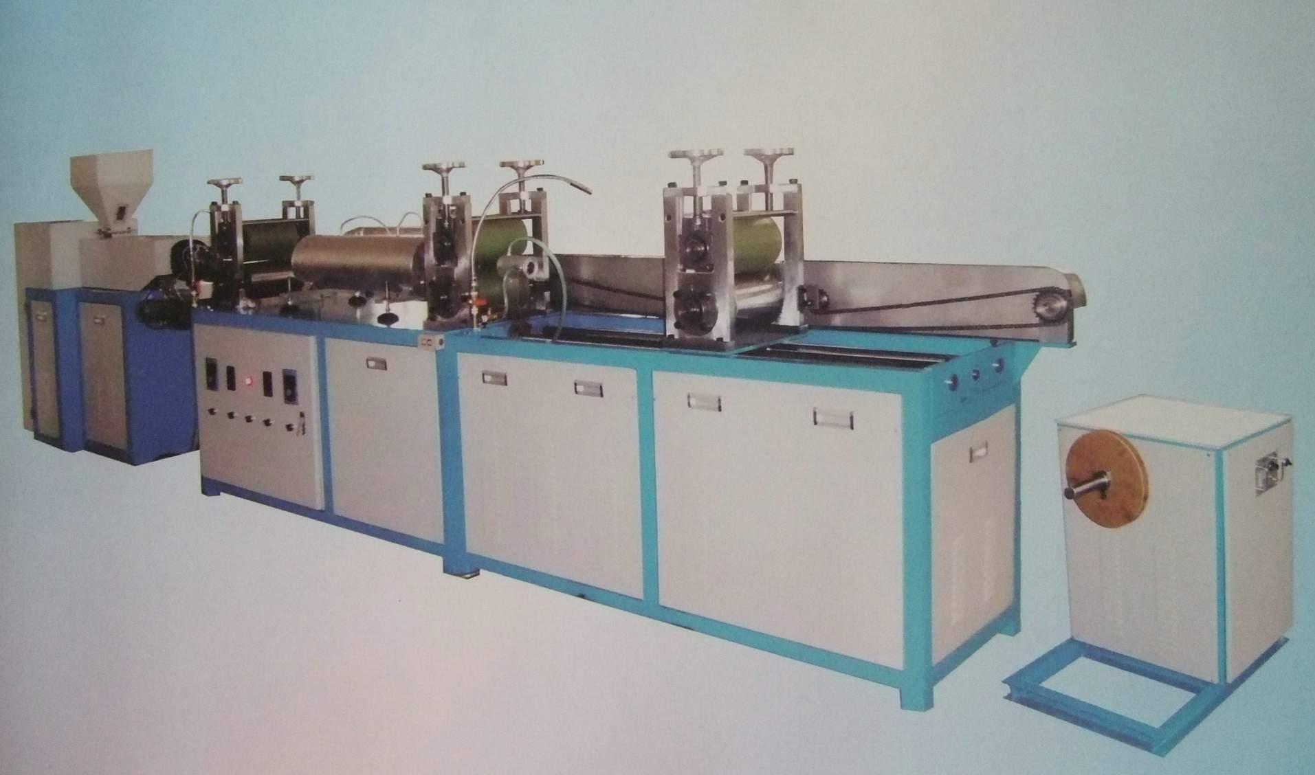 PET/PVC18650電池套管吹膜機