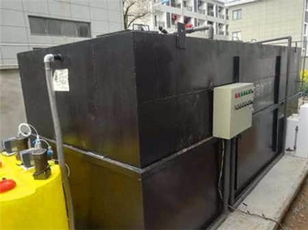 西宁医院卫生院门诊科污水处理设备