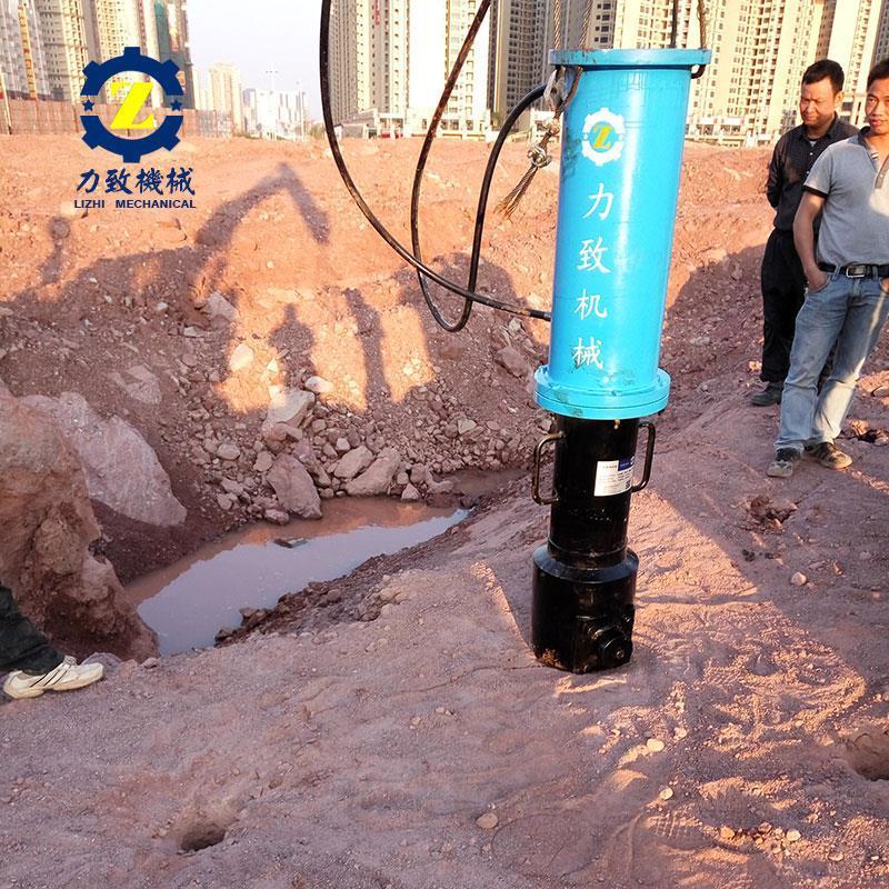 常州银矿洞采设备液压分裂机出售