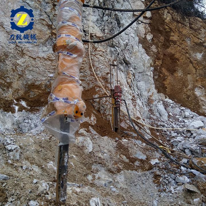 赣州无声采矿机械液压分裂机