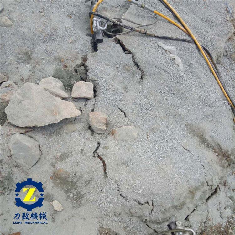 贵阳金矿开采专用液压分裂机厂家