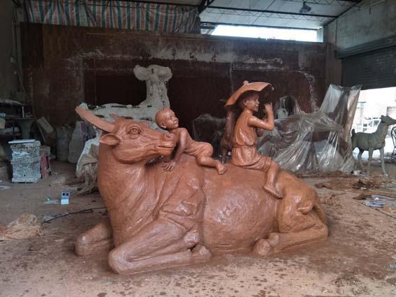 云浮动物雕塑