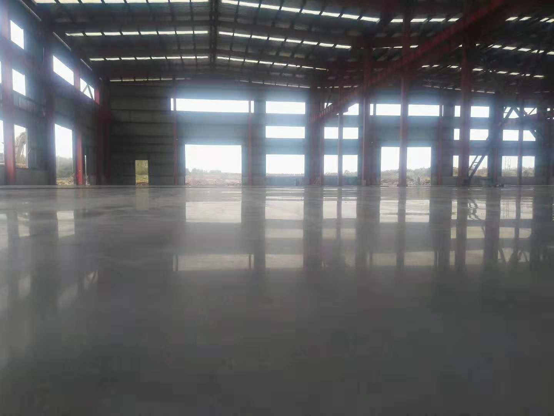 三亚工厂旧地面翻新