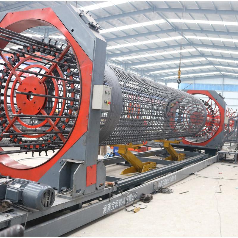 青海海东数控钢筋笼滚焊机