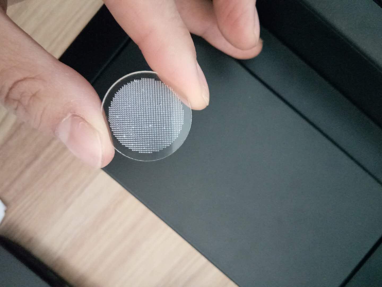 激光切割 切割打孔 超白玻璃