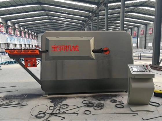 上海现货数控钢筋弯箍机特点