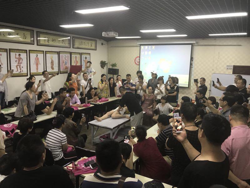 深圳专业老师王红锦产后骨盆修复培训效果
