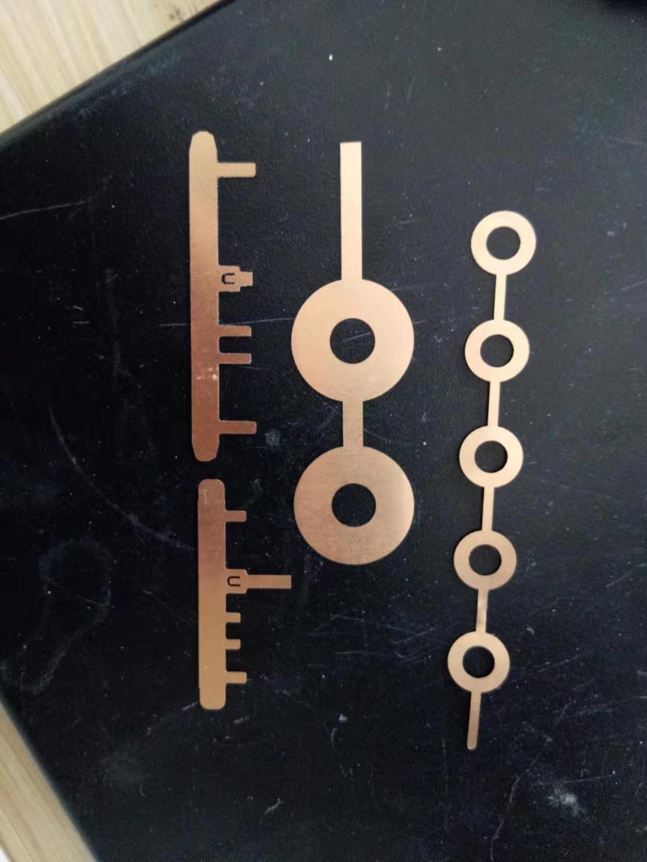 激光小孔加工切割打孔鈹青銅彈簧
