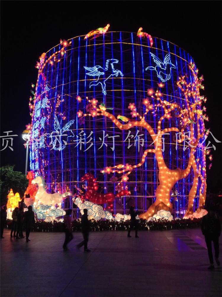 揭阳造型自贡花灯彩灯厂