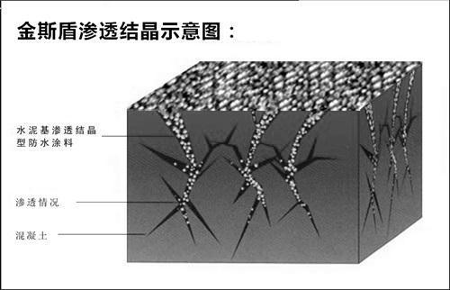贵阳水泥基渗透结晶防水涂料批发