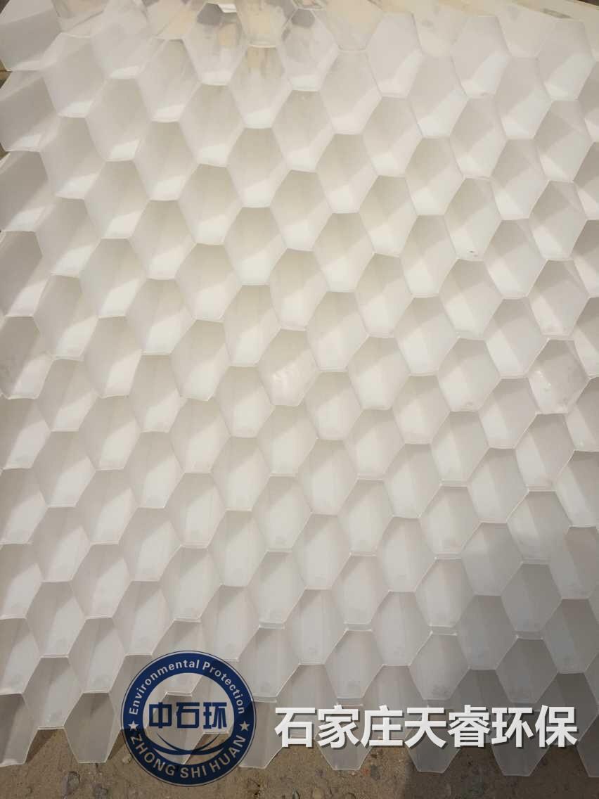 海口塑料蜂窝斜管填料材质天睿环保