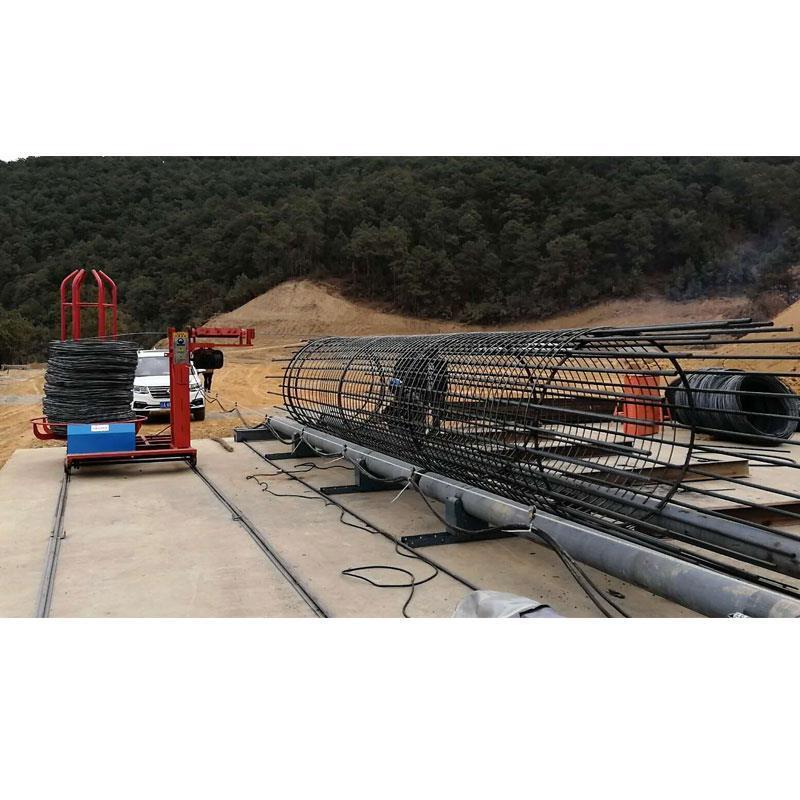 钢筋笼滚丝机钢筋笼绕筋机18米价格