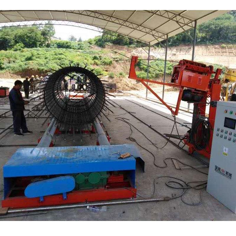 钢筋笼自动成型机钢筋笼绕筋机-宝润机械