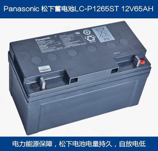 全新松下蓄电池12V65AH
