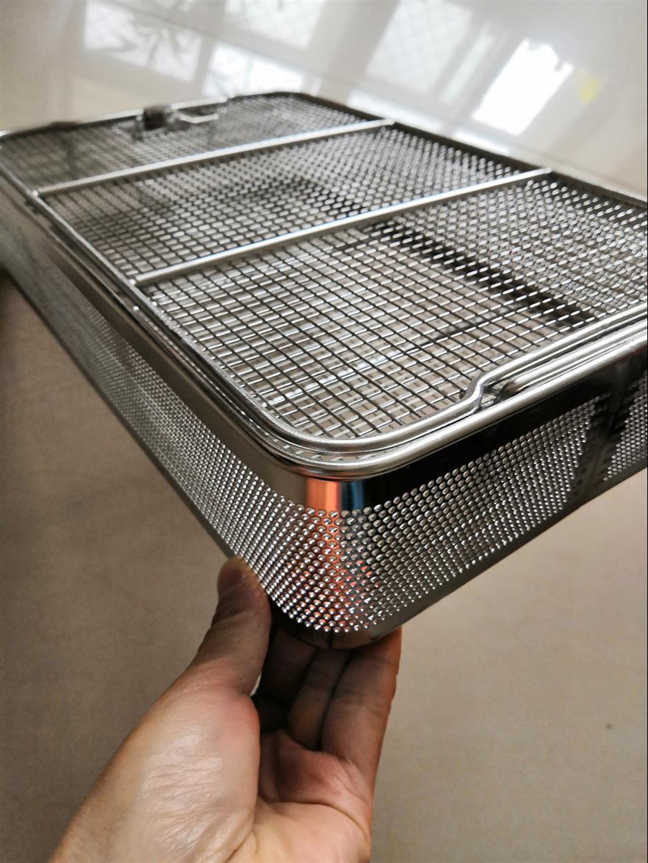 消毒金属清洗篮定制