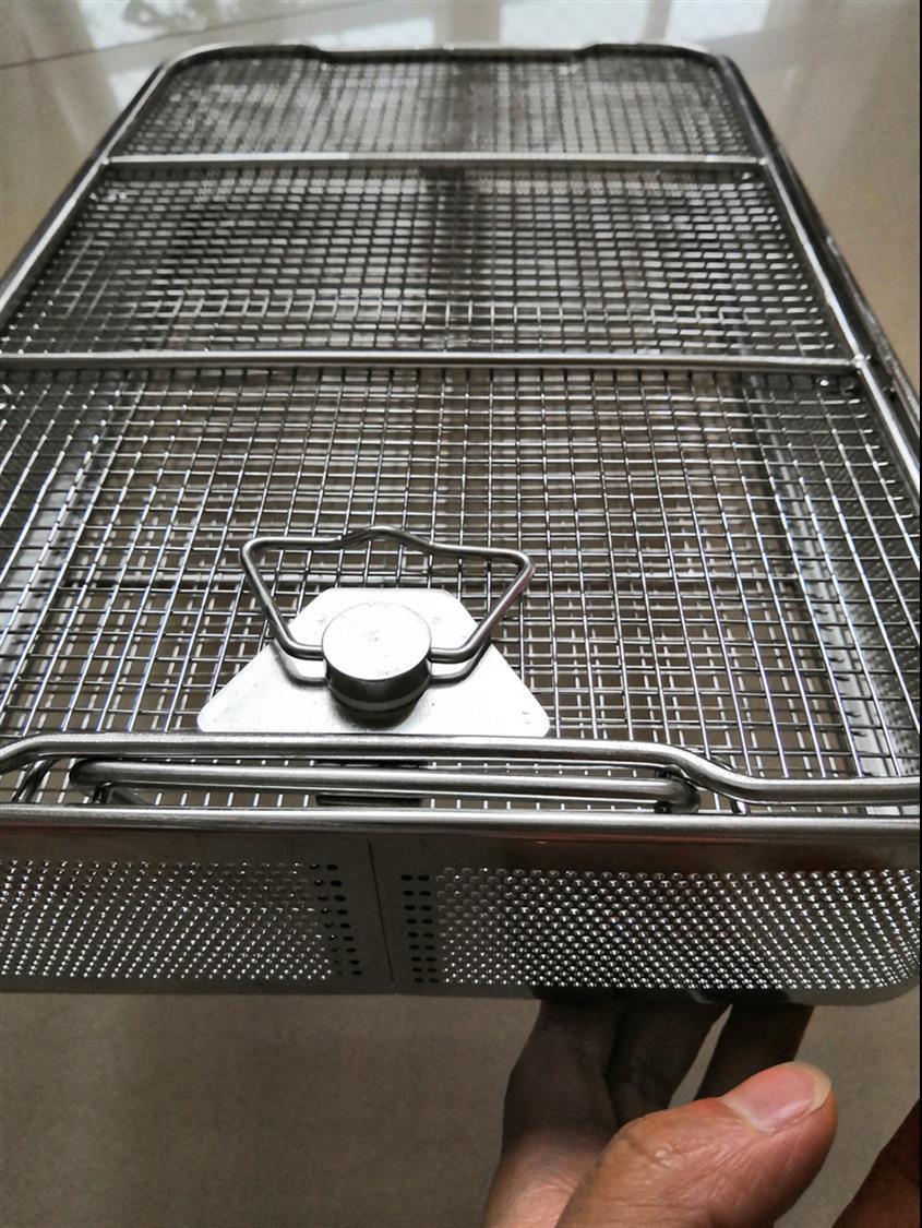 不锈钢灭菌清洗篮定做