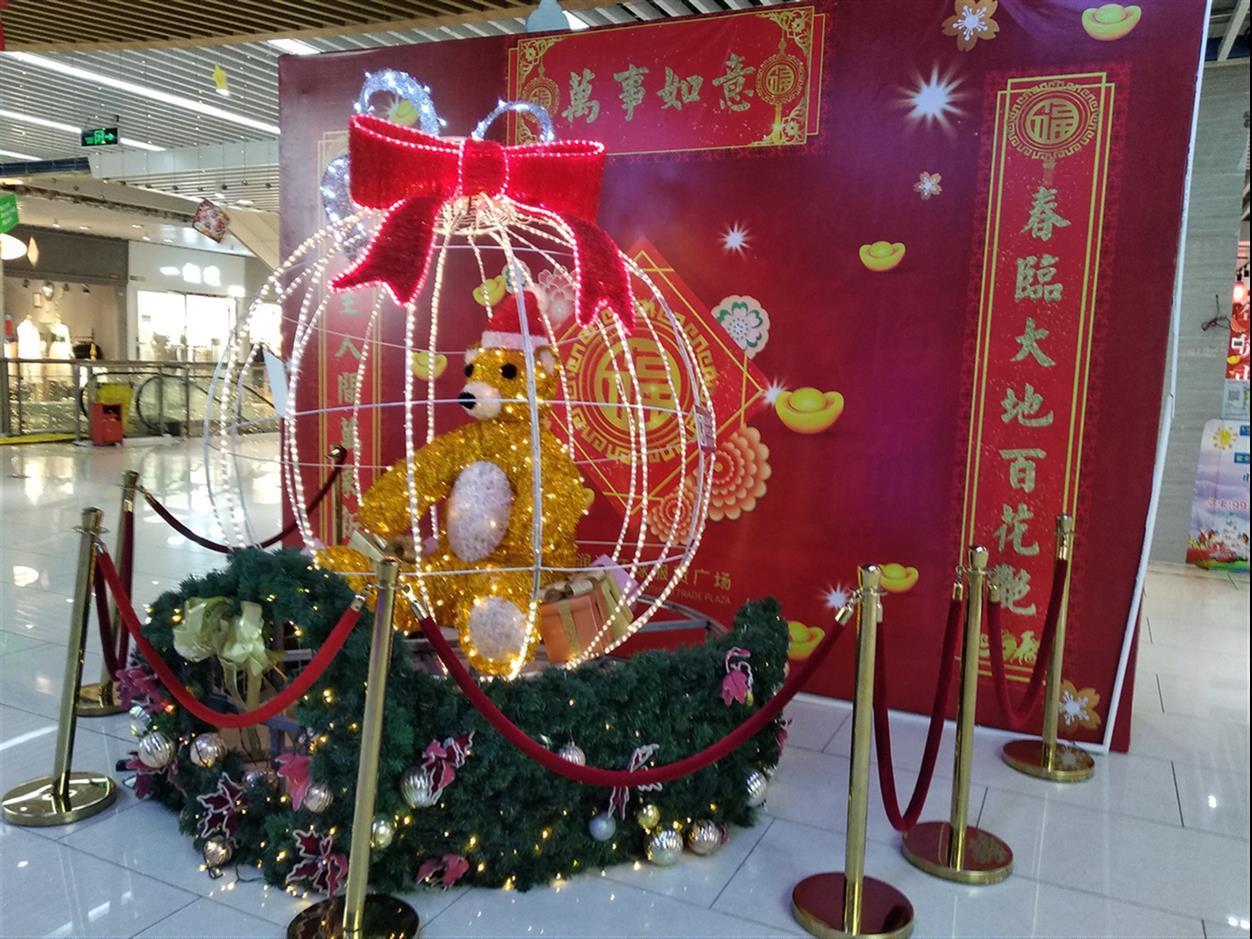 广东地区商场商业美陈制作团队