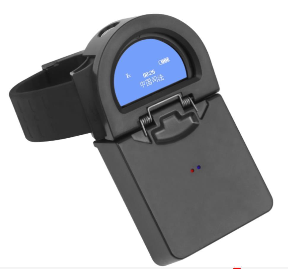 南京销售社区矫正防拆报警GPS定位心率监测腕表