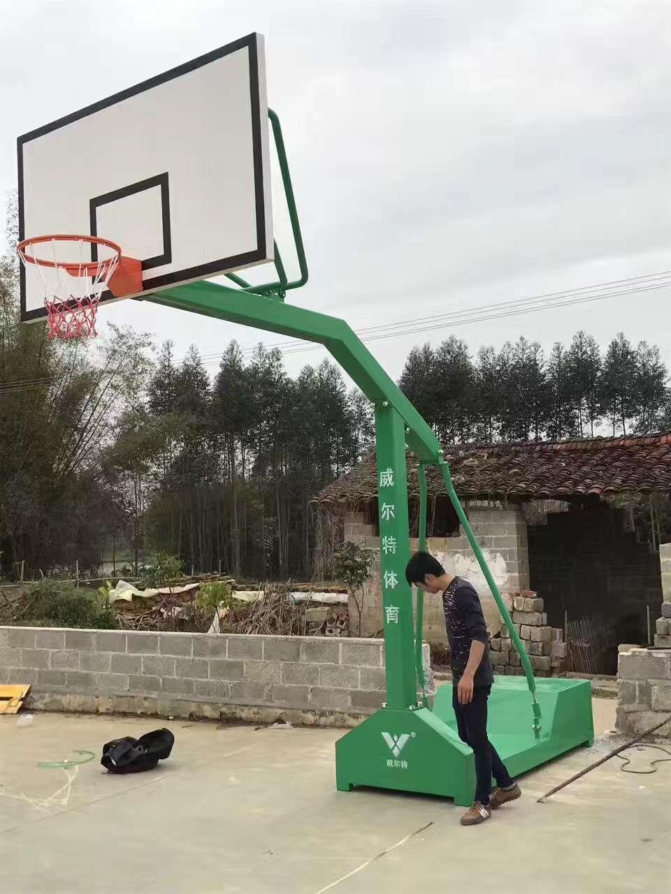 崇左小学篮球架公司