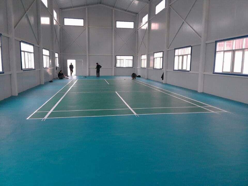 广西篮球场pvc地胶
