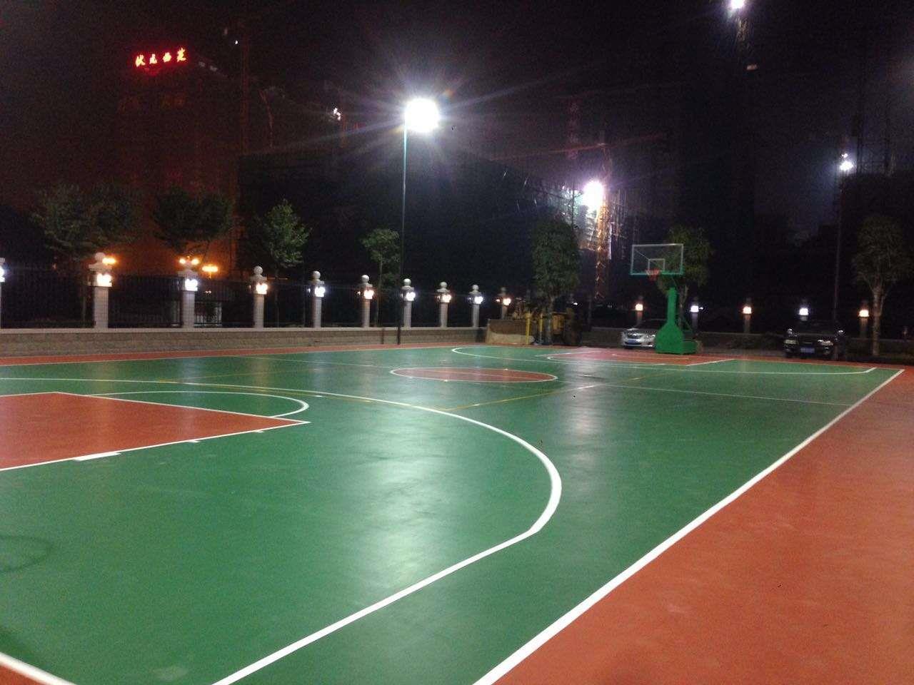 柳州硅胶篮球场