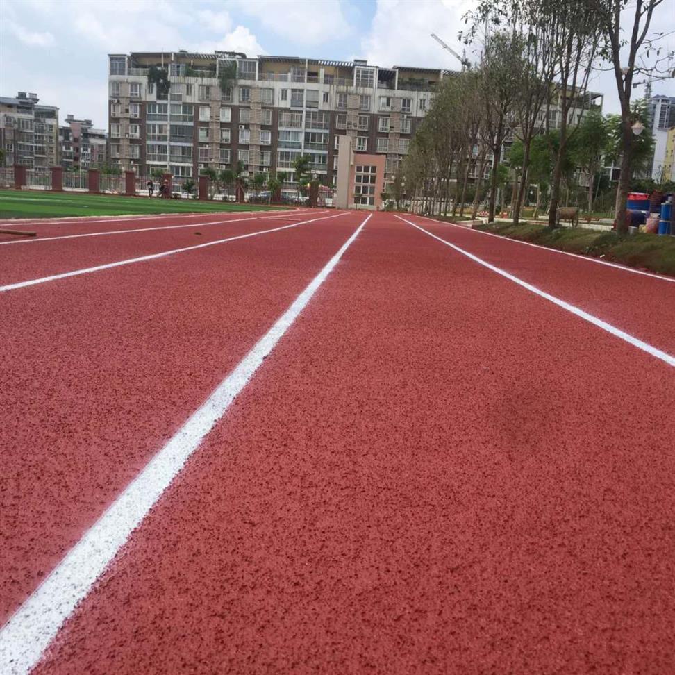来宾市象州县学校专用塑胶跑道跑道