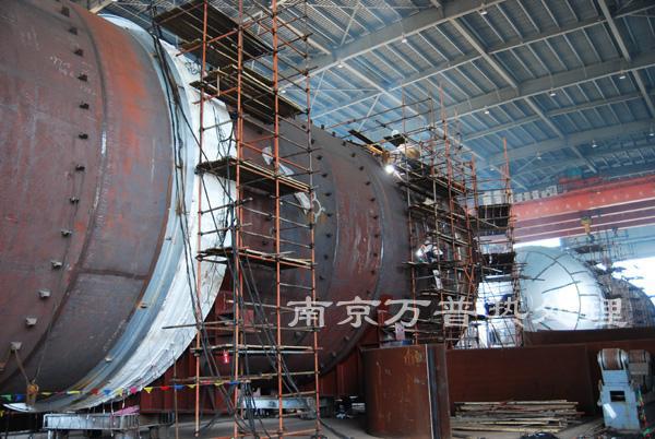球形储罐焊接热处理工艺