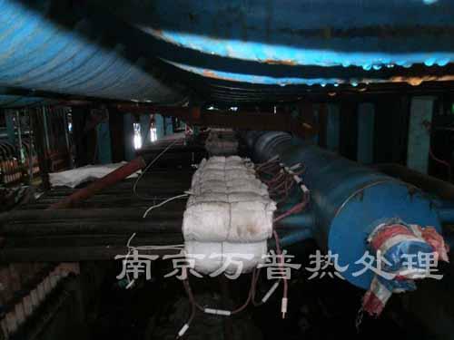 工艺管道电加热热处理施工