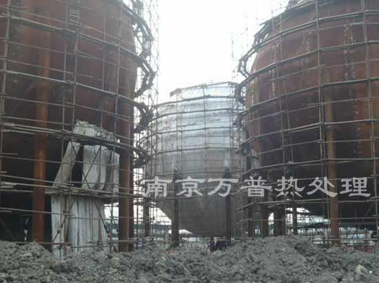 安徽球罐热处理工程