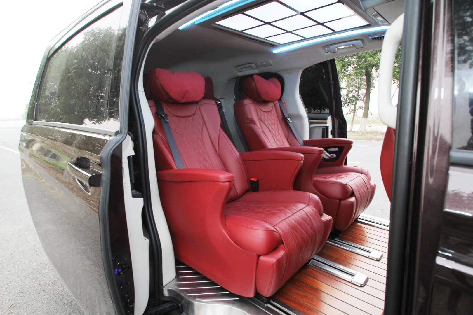 南通别克GL8改装升级航空座椅木地板