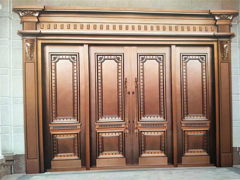 莱芜正规铜门