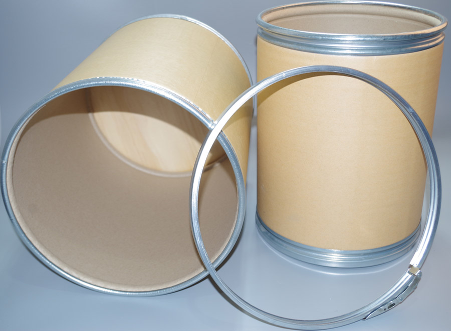 4鹽城牛皮鐵箍紙桶 好的品質實現包裝的錦上添花