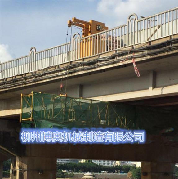 桥梁检测车运作视频
