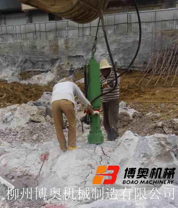 海口破石机设备公司