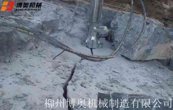 沧州手动液压岩石劈裂机