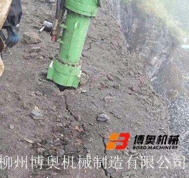 柴油型液压岩石劈裂机